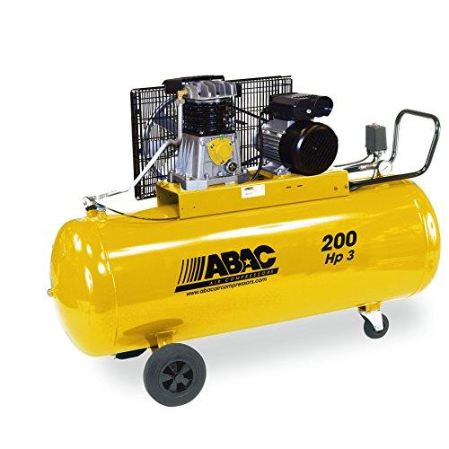Compresseur air bicylindre 200L 3CV monophasé