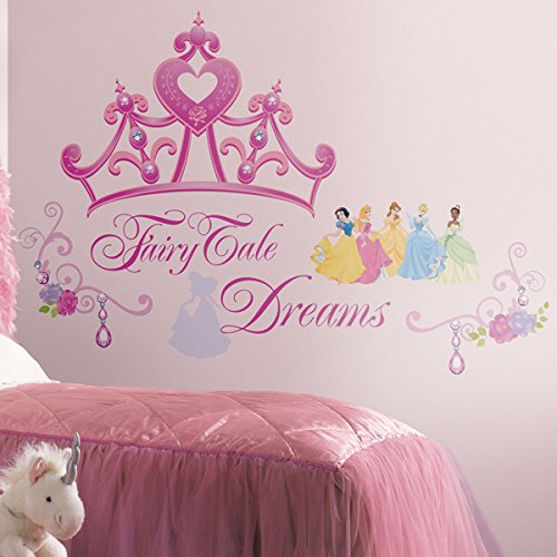 RoomMates Disney Princess Krone Wand (Kronen Princess Disney)