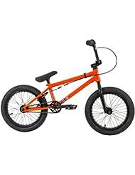 """Flybikes Neo 2016 - Bicicleta BMX infantil  cuadro 16"""", color rojo, talla S"""
