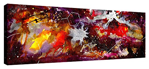 Epic Graffiti Art Leinwand Wand Art, rot, 30,5 x - Artwork-wand-dekor-rot
