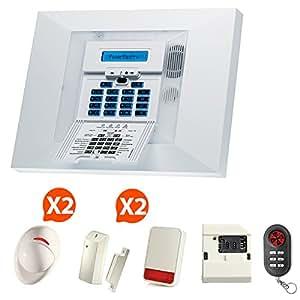 Alarme GSM sans fil Visonic NF&a2p Kit 7 +