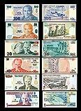 *** 1,5,10,20,50,100 türkische New Lira Serie Replik 2005 - 6 alte Banknoten - Reproduktion ***