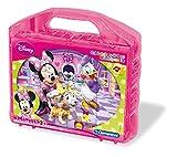 Clementoni 41171.9 - 12er Würfelpuzzle, Minnie Club House