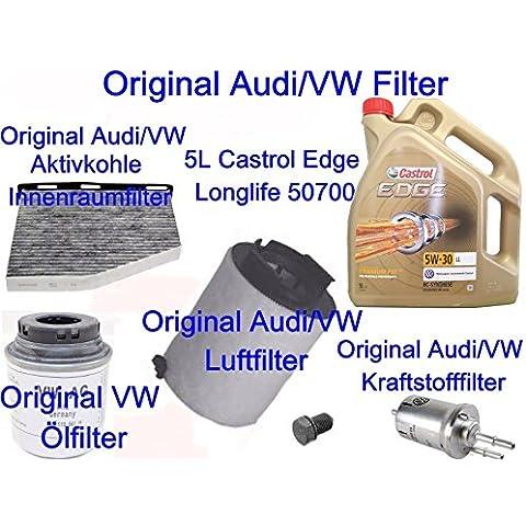 Original filtro pacchetto VW Golf VI Plus Passat 3623C Touran Audi A3Sport back1.21.4TSI TFSI