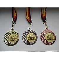 Deutschland-Bändern Turnier mit Emblem Kanu Kajak Rudern Pokal Kids Medaillen m Pokale & Preise