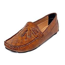 Bacca Bucci Men Tan PU Loafers