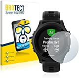 2x BROTECT Screen Protector Garmin Forerunner 935 Protector - Crystal-Clear, Anti-Fingerprint