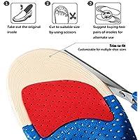 Schuhe Pad Stoßdämpfung, gezichta Memory Orthopädische Einlegesohlen mit Arch Support Stoßdämpfung Mittelfußpolster... preisvergleich bei billige-tabletten.eu