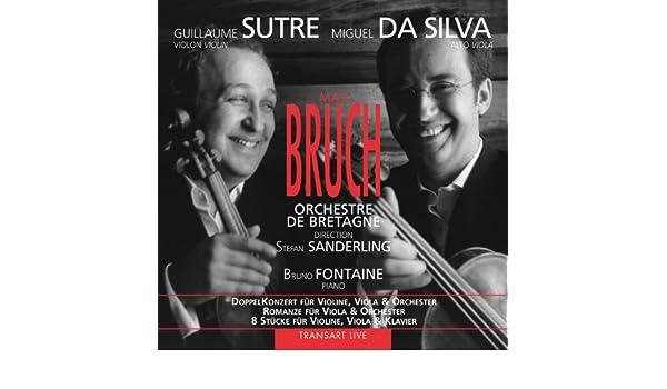 Bruch : DoppelKonzert für Violine, Viola & Orchester - Romanze für ...