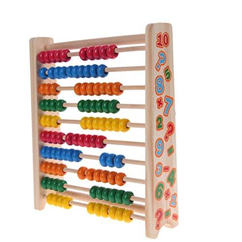 domybest Holz Bead Abacus Labyrinth Toys Baby Kinder Vorschule Math Learning Teaching Perlen Weihnachten Spielzeug Holz-zähler
