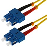 Helos 5m OS2 SC/SC 5m SC SC Jaune câble de fibre optique - Câbles de fibre optique (5 m, OS2, SC, SC, Jaune)