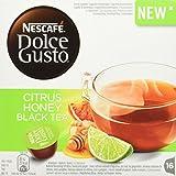 NESCAFÉ Dolce Gusto Citrus Honey Thé Noir 16 Capsules 83,2 g