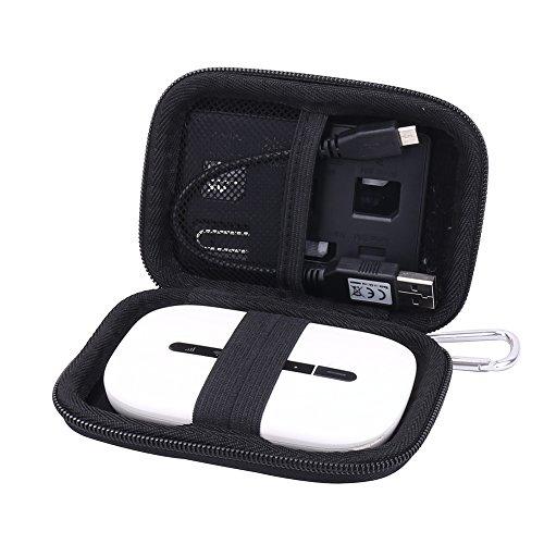 Viaggio Borsa Custodia Rigida per Huawei E5330 E5577S G LTE Mobile WiFi Router Mi-Fi Hotspot Portatile di Aenllosi