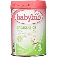 Babybio Lait de Croissance BIO de 10 mois à 3 ans 900 g