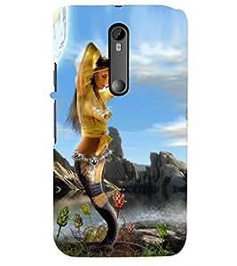 PRINTSHOPPII GIRL HOTT Back Case Cover for Motorola Moto G3::Motorola Moto G (3rd Gen)
