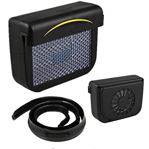 Car Heater Auto-Sonnenenergie-Luft-Abluftventilator Energiesparende Ventilator-Universalgebrauchs-Autoabzugsventilator Hochfestes Material