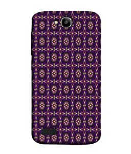 PrintVisa Designer Back Case Cover for Huawei Honor Holly (Abstract Background Decoration Modern Decorative Design Beautiful Ethnic)