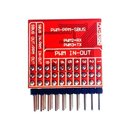 Qwinout 8CH Empfänger PWM zu PPM Sbus Dbus S-Bus Encoder Signalwandler Modul für RC DJI Phantom 2 Xaircraft Minix Superx V2 -