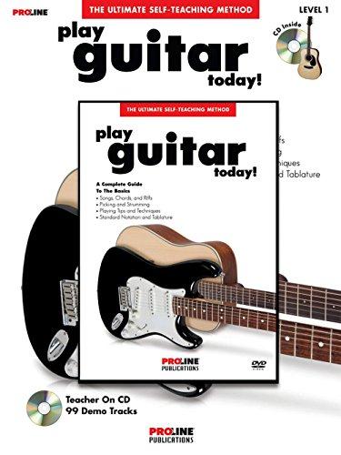 Proline Gitarre spielen Heute. (Book/DVD Pack) - Video-spiel-gitarre