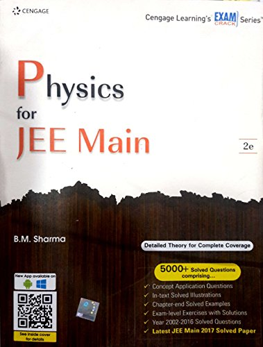 PHYSICS FOR JEE MAIN 2E 2017