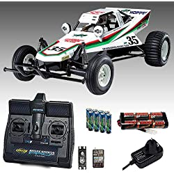 TAMIYA Grasshopper Buggy RC Car Deal Bundle. Radio, Battery & Charger 58346
