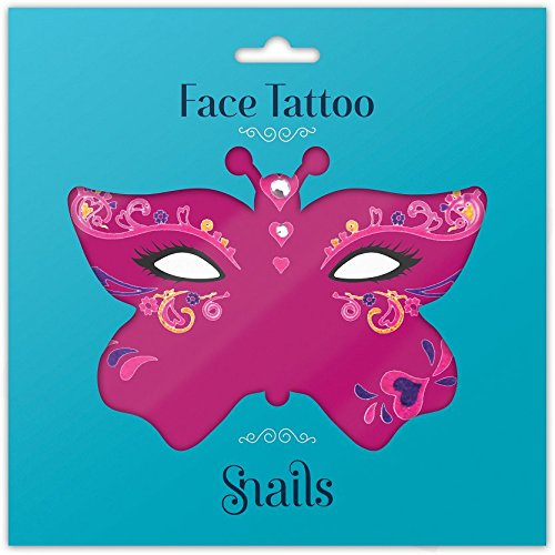 Snails 30002403 Face Tattoo Queen of Hearts