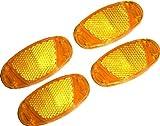 4 Reflektoren für Fahrradspeichen