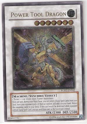 Yu-Gi-Oh! - - - Power Tool Dragon (RGBT-EN042) - Raging Battle - Unlimited Edition - Ultimate Rare by Yu-Gi-Oh! | Apparence Attrayante  d51829