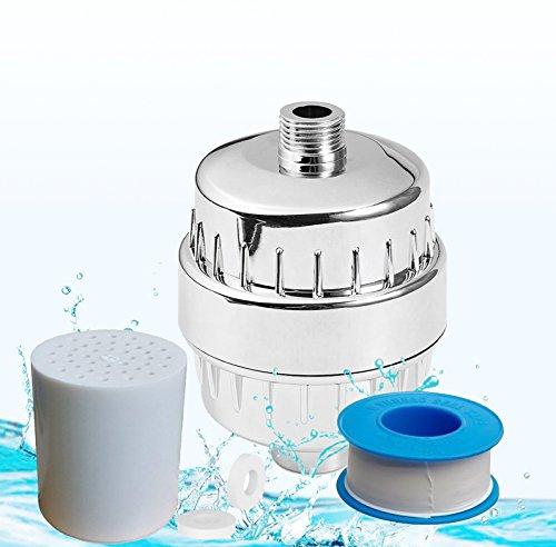 Duschfilter, Hochleistungs-10-Stufen-Duschwasserfilter - 2 Kartuschen (Shower Filter, Shower Filter)