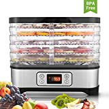 Digital Food Dryer Dehydrator with Digital Temperature Control for D.I.Y Healthy Snacks 5