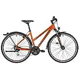 Bergamont Helix 4.0 EQ Damen Cross Trekking Fahrrad orange/schwarz 2017: Größe: 52cm (170-180cm)