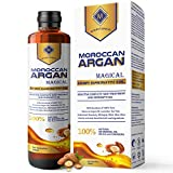 MOUNTAINOR MOROCCAN ARGAN HAIR GROWTH OIL 200ML, MULTIPURPOSE MAGICAL OIL/SERUM WITH PURE 14