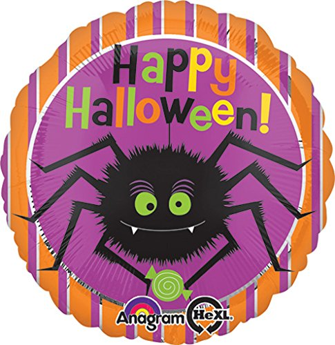 Amscan International 7.967.474,5 cm Halloween-Spider Folie Ballons (Standard)