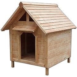 dibea dh10014TLW hogar, madera, resistente a la intemperie, color marrón