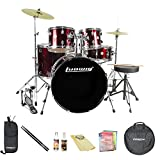 Ludwig LC1704DIRRED 5-Piece Drum Kit (Red)