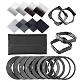 Neewer® Complete ND Filter Kit for Co...
