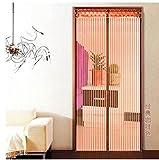 Mosquitera para puerta mosquitera magnético mosca cortina 12tamaño disponible compatible con puertas hasta 80cm x 210cm Cortina Puerta Corredera Te