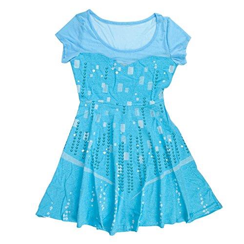 lsa Juniors Skater Dress | M/L (Disney Princess Dress Up Kleidung)