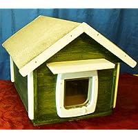 Gato Casa Exterior totalmente aislados con gato Tapa
