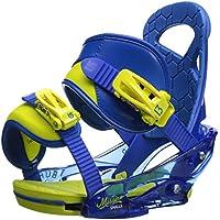 Burton Mission Smalls - Fijaciones de snowboarding, color - Next Level Blue, talla S
