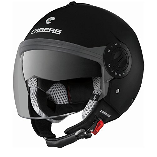 Nouveau 2015 Caberg Sintesi Shadow noir Dvs moto casque Bluetooth Ready