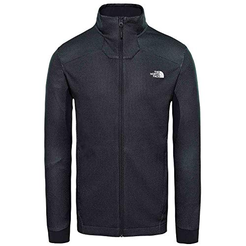 THE NORTH FACE Apex Midlayer Men TNF Black Größe L 2019 Jacke - Face North Apex Jacke Herren