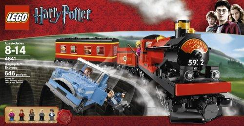 LEGO--4841-LEGO-Harry-Potter-Hogwarts-Express-train