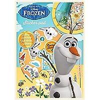 Disney frozen Olaf Sticker Pad Colour Scenes & over 30 Stickers