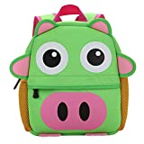 Zhhlinyuan High Quality Morral de los niños Bolsas escuela Creative Kindergarten Backpack Various Pattern Design Boys Girls Kids Bags