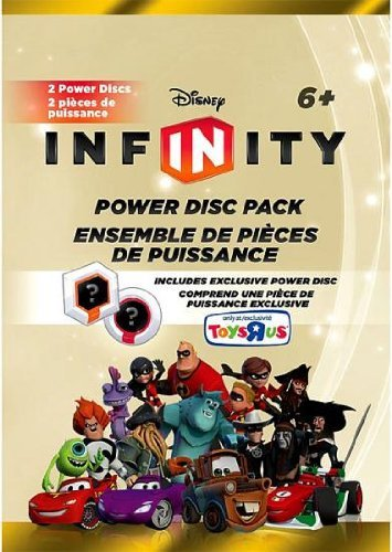 Disney Infinity Exclusive Series 2 Power Disc Pack [Gold] Last 4 Digits of Barcode Say 3980