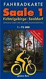Fahrradkarten-Set: Saale<br>1:75.000: Mit den Karten:
