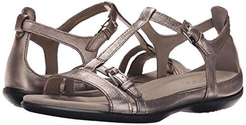 Ecco Flash Sandal Damen US 5 Gold Stöckelschuhe -