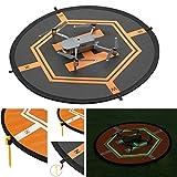 "Drones Landing Pad,31.5""/80cm Double Side Day & Night Folding Landing Pad for DJI Mavic Pro DJI Spark DJI Mavic Air Inspire 2 1 Phantom 4 3 Quadcopter Drone Apron from Longhua Misiqi"