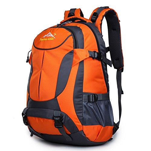 SZH&BEIB Outdoor Bergsteigen Tasche Männer und Frauen große Kapazitäts-wasserdichter Spielraum Rucksack 40L Orange